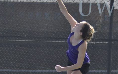 Women's tennis squad dominates home matches