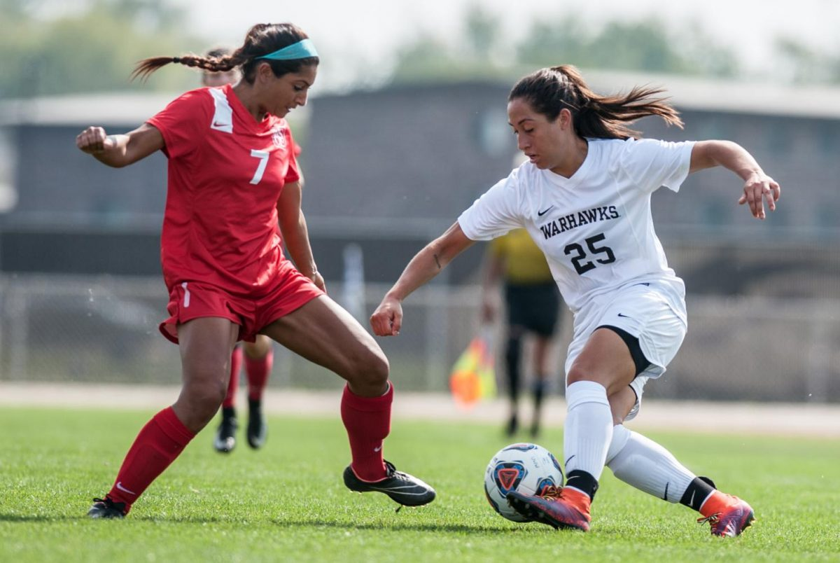Women's soccer coach Quamme earns 100th win Hawks' victory against the Norse secures historic record