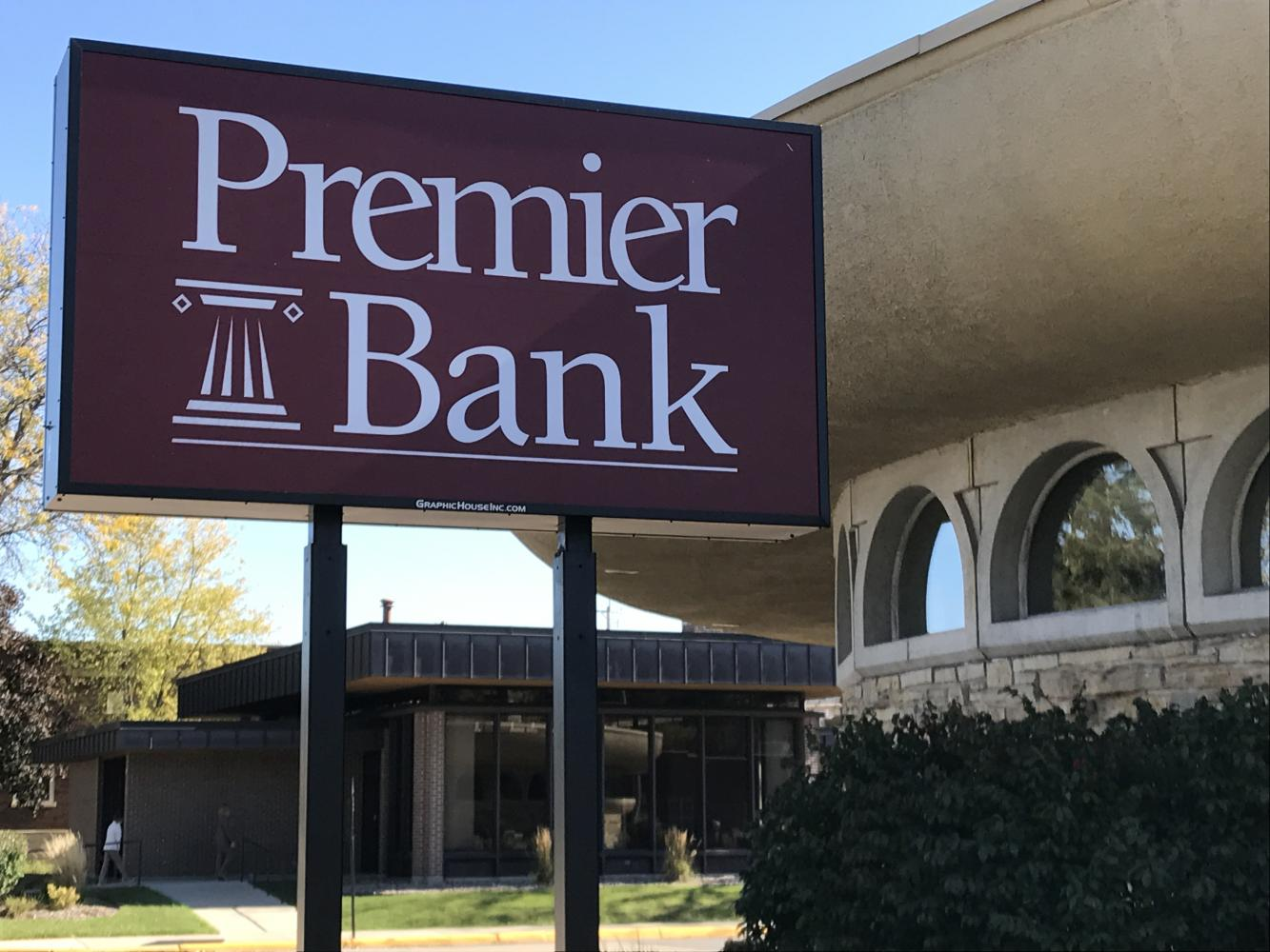 Premier Banks' location in Whitewater which was previously the local branch for Commercial Bank. Budlong is excited to get involved with the community and work with UW-W.