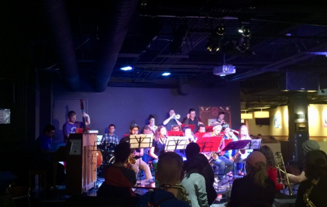 Jazzing up the holidays with UW-W Jazz Band