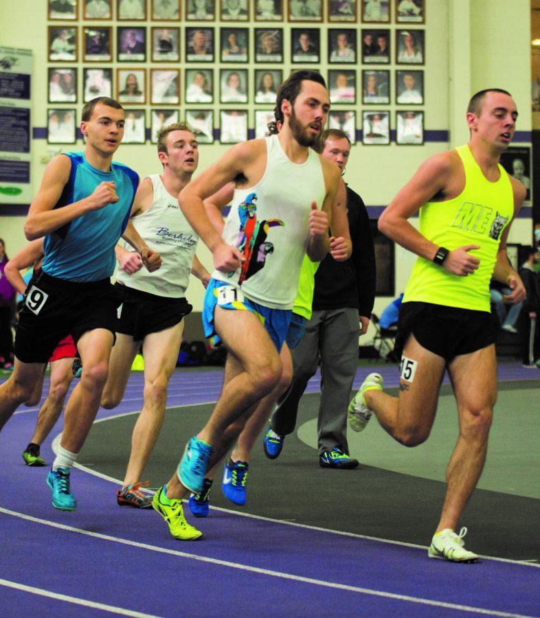 Alumni push current athletes
