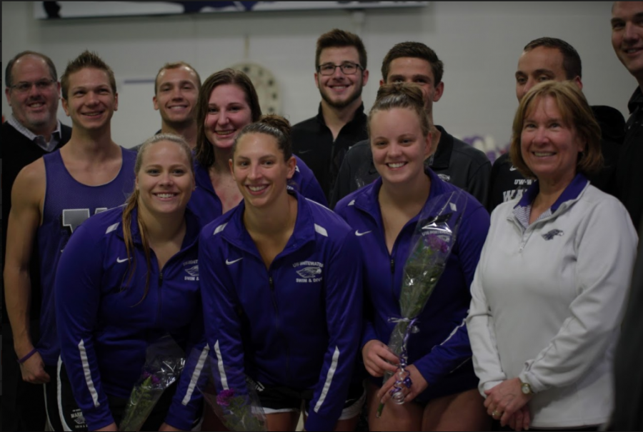 Senior swimmers take their last dive