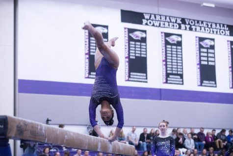 Women's gymnastics stumbles on senior day