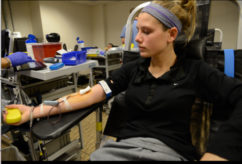 Students donate blood, give back to community