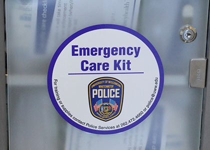 New emergency care kits to keep campus prepared