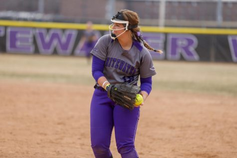 Softball drops first WIAC game of season