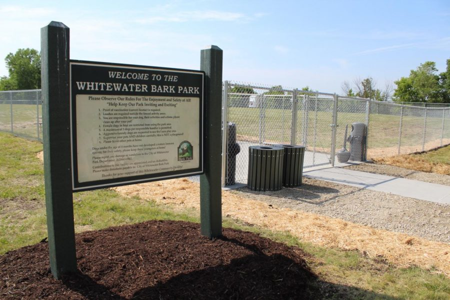 The new Bark Park opened June 13 with a ribbon cutting ceremony and treats for owners and pets.