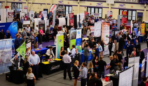 Career Fair draws hundreds