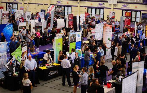 Career Fair draws hundreds