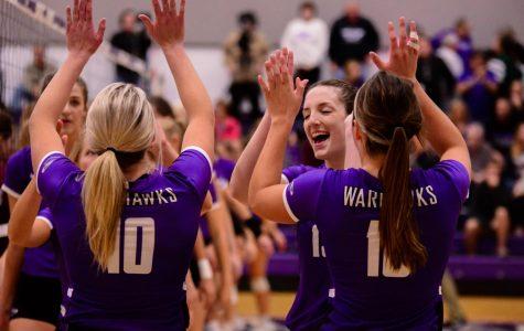 Women's volleyball takes WIAC runner-up spot