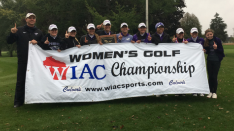 The University of Wisconsin- Whitewater's women's golf team claimed its second straight Wisconsin Intercollegiate Athletic Conference championship and will play for the NCAA title in the spring.