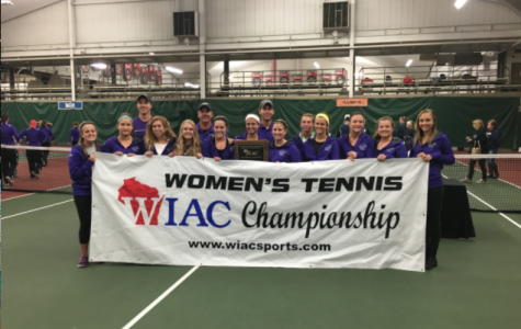 Women's tennis claims another WIAC title