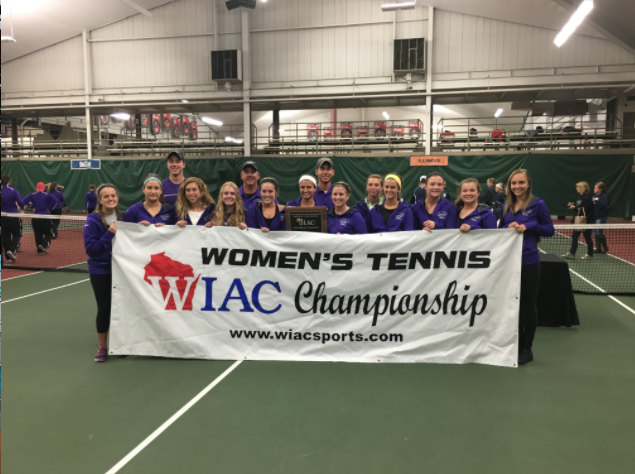 The+women%E2%80%99s+tennis+team+secured+its+12th+straight+WIAC+title+Oct.+21+in+Madison.+The+%0AWarhawks+now+have+19+overall+conference+championships+and+will+seek+a+national+title+in+May.+