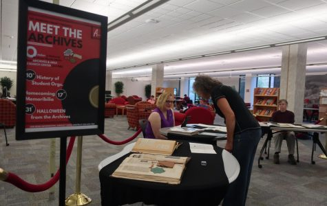 Homecoming history at  'Meet the Archives' event
