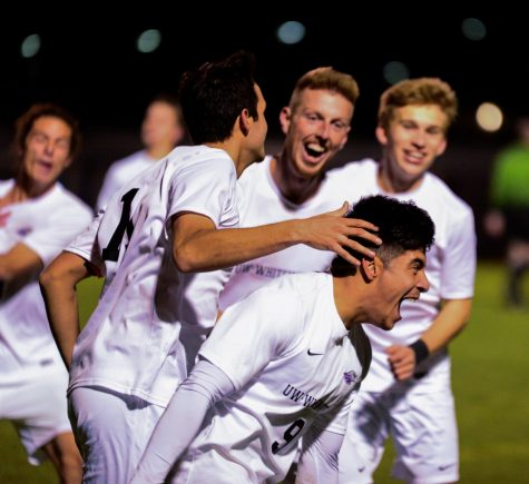 Men's soccer seniors lead 'Hawks on senior night
