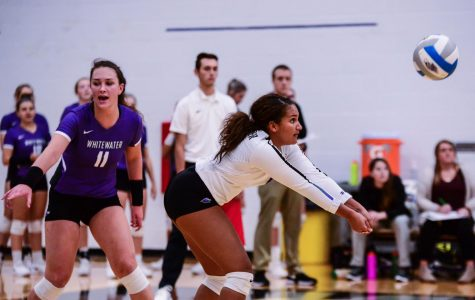 Volleyball short of WIAC tourney title