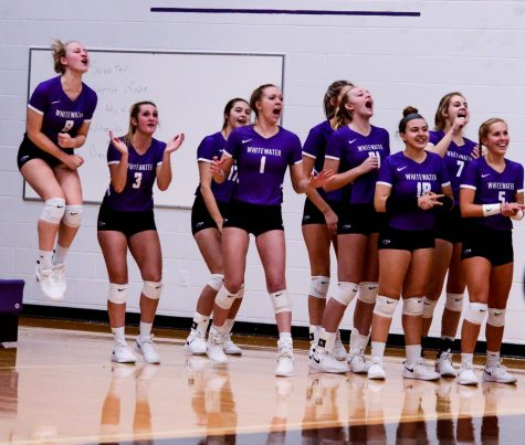 Volleyball ends season in second round