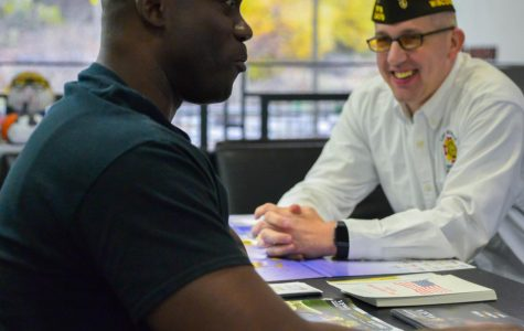 Fair provides resources to service members