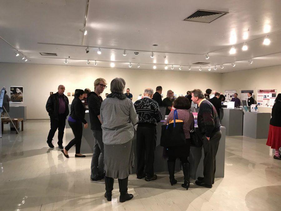 photos courtesy of Michael Flanagan Director of Crossman Gallery