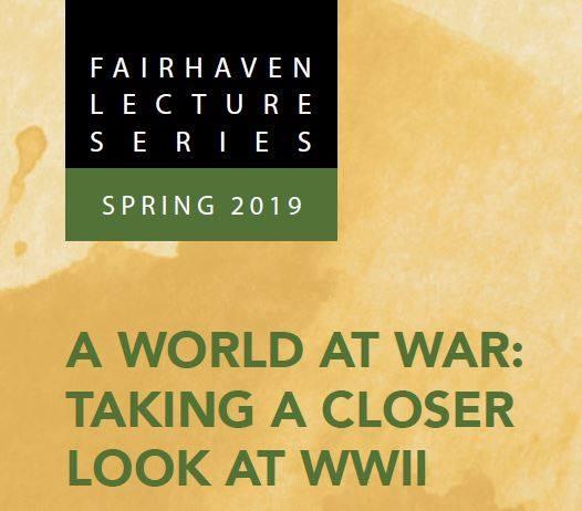 Fairhaven Lecture Series encourages unique conversation
