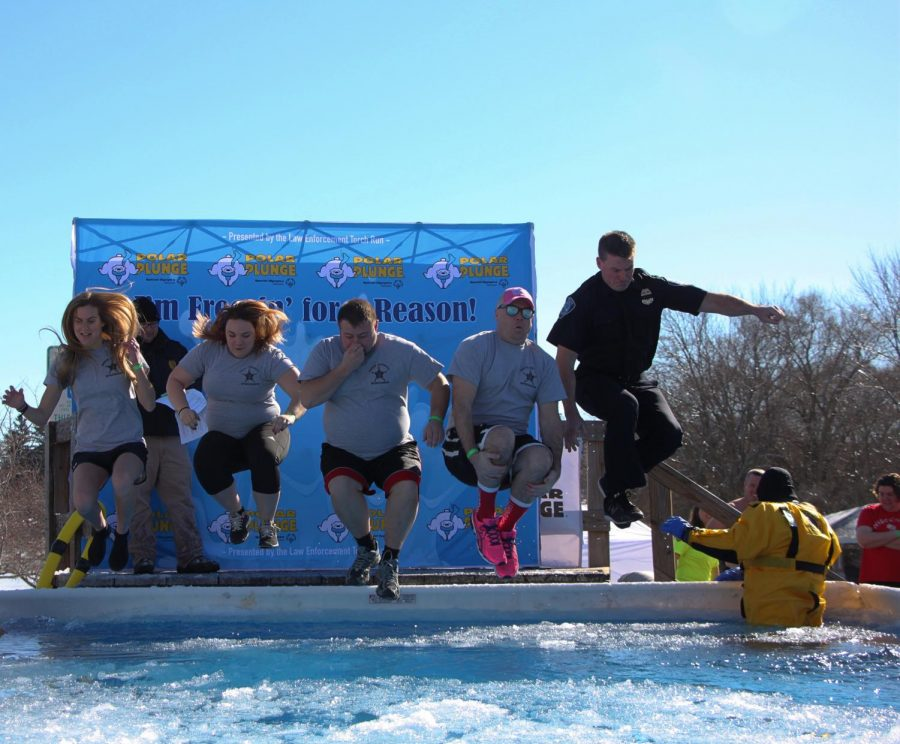 Polar Plunge brings teams and communities together