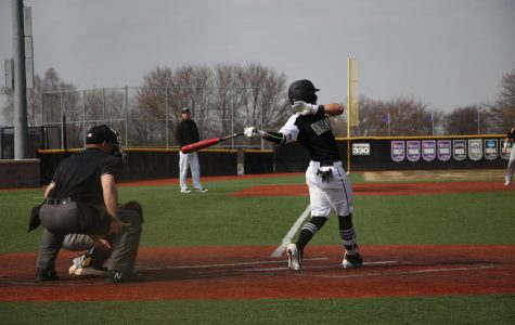 Baseball squad takes down top conference foe