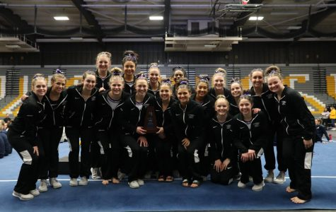 Gymnastics ends strong again