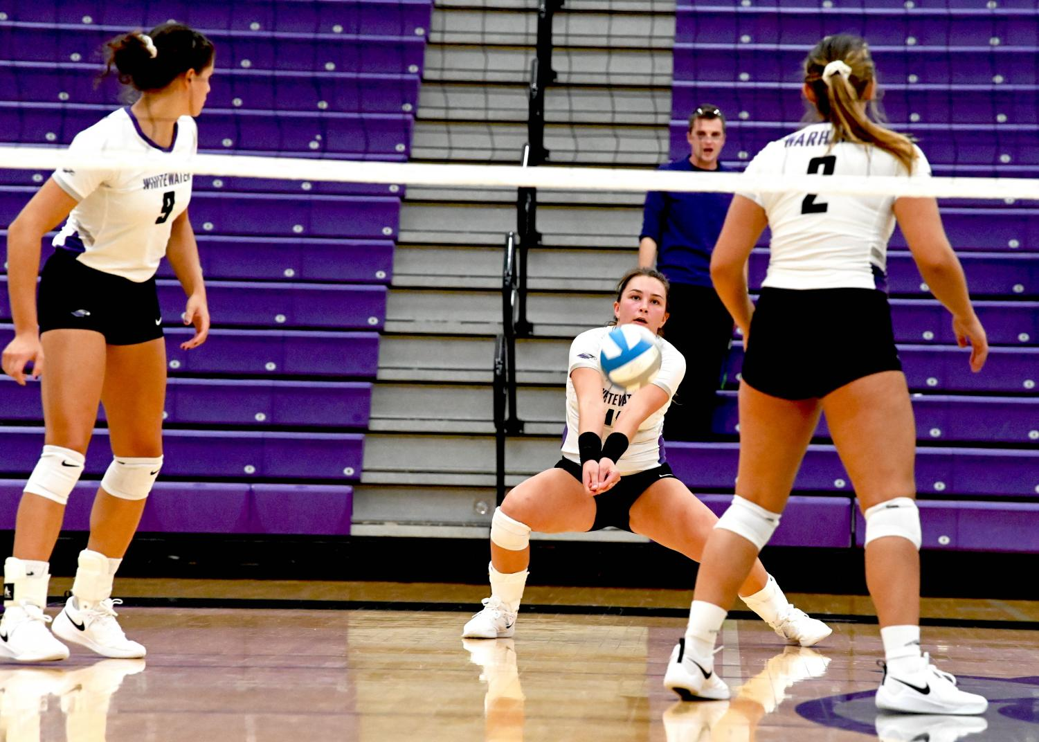University of Wisconsin-Whitewater Warhawk Volleyball continues its winning streak by fighting to the end of every match.