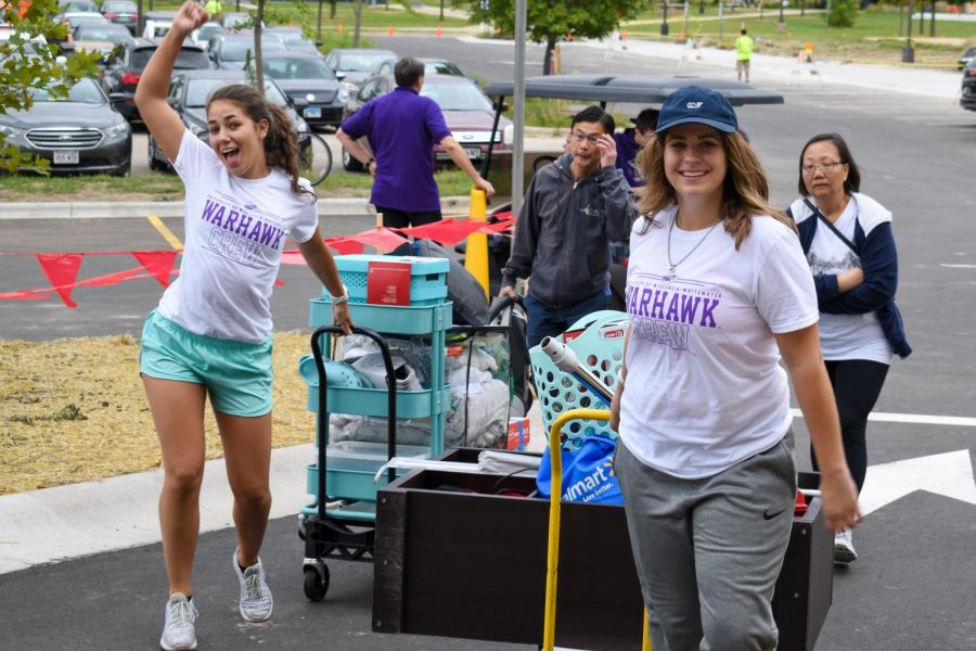Students fly back home for the year