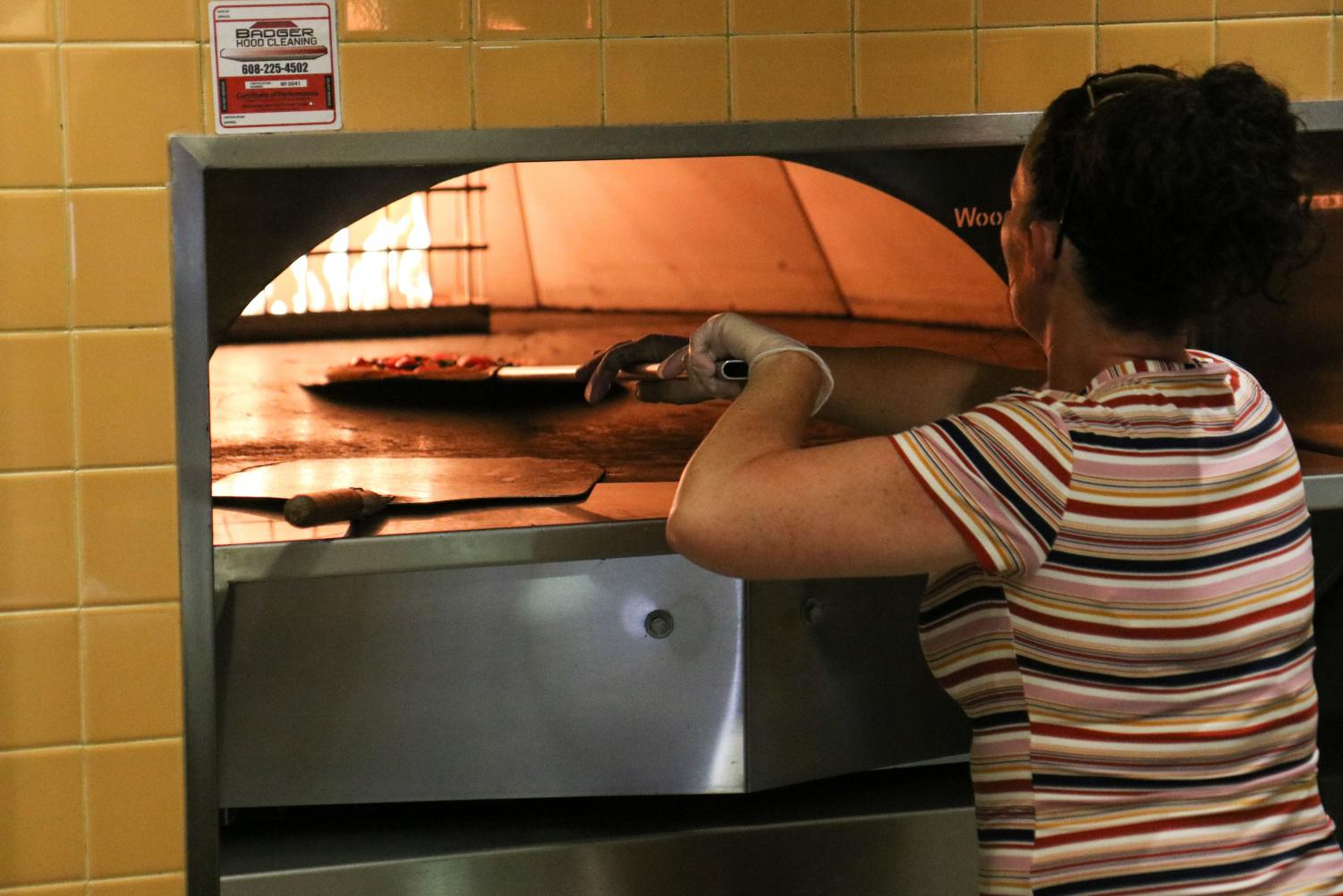 Recently 'Olive,' in the University Center's Down Under received a makeover. The restaurant is now called 'Heat and Fire' featuring two seperate areas: Heat for pizzas, and Fire for other kinds of food like chicken tenders.