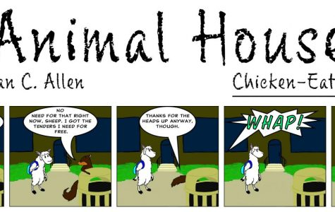 Animal House: Chicken-Eating Squirrel