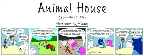 Animal House: Homecoming plans