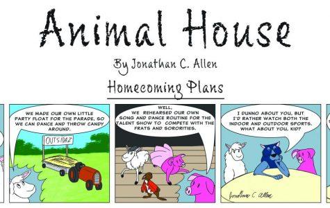 Animal House: Homecoming plans