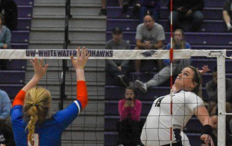Volleyball blanks Platteville