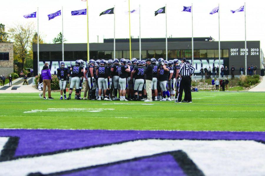 Warhawk football plows through Pioneers at Homecoming 2019
