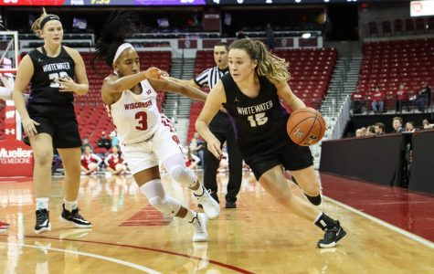 Women's basketball plays in Madison