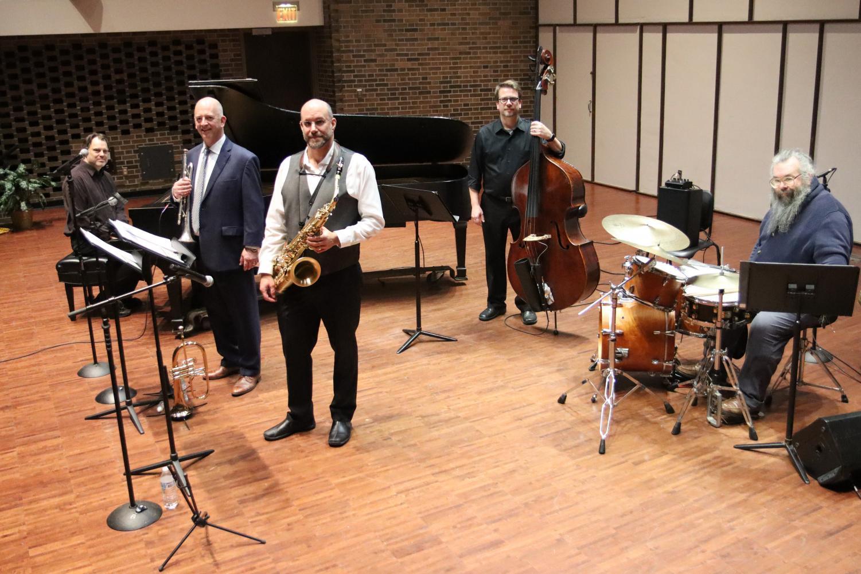 From left to right - Mark Siegenthaler, Michael Hackett, Matt Sintchak, Brad Townsend, Nick Zielinski.