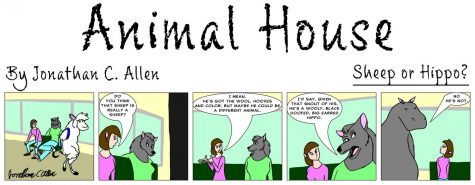 Animal House: Sheep or hippo?