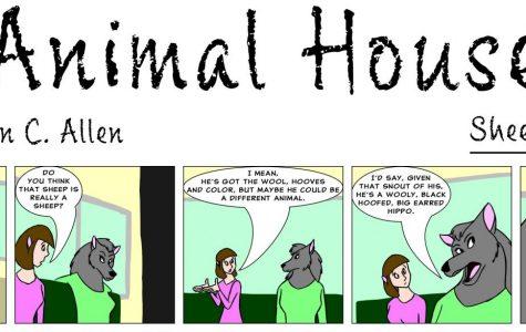 Animal House: Sheep or hippo?
