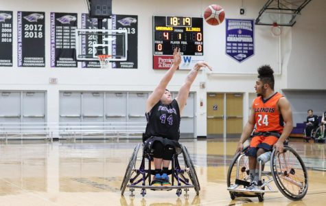 Wheelchair Basketball wins big at home tournament