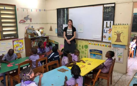 Students make a change in Jamaica