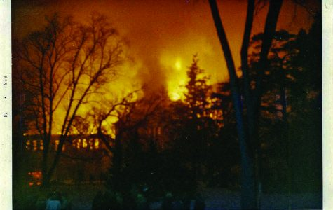 The burning history of Old Main Hall