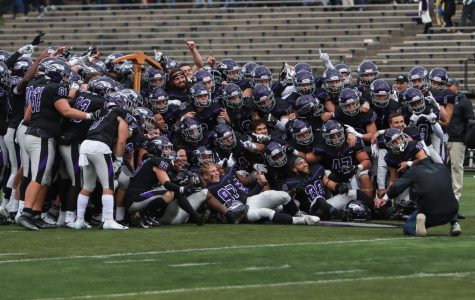 The Warhawks kept the Miner's Axe again this season, beating UW-Platteville to earn the ceremonial trophy.