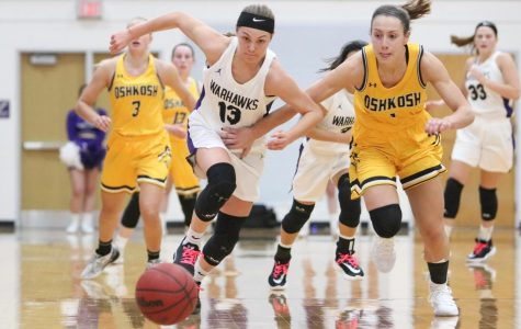 Women's hoops stunned by home loss to rivals
