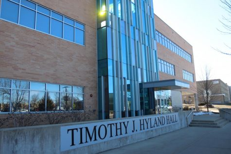 The home of the UW-Whitewater business school; Timothy J. Hyland Hall
