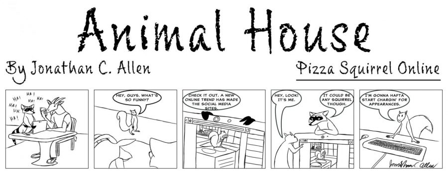 Animal House: Pizza Squirrel