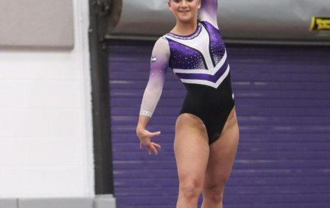 Gymnastics honors seniors in win over La Crosse