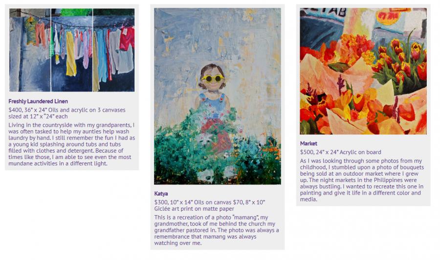 Artist+Cate+Mahnke%27s+exhibit+%22Nostalgia%22+is+on+display+online+through+Roberta%27s+Art+Gallery+Aug.+14-Sept.+18.+