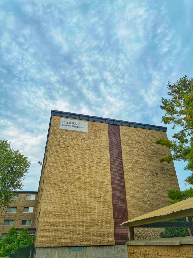 Clem Hall is where individuals are quarantined on campus.
