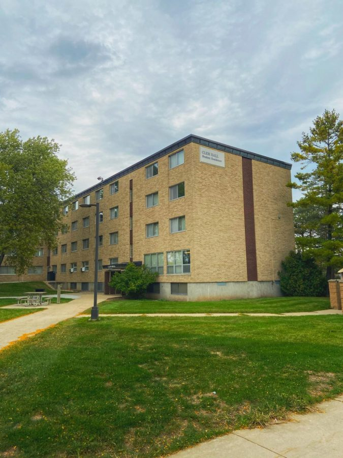 Clem Hall is the only student hall designated for isolation due to COVID-19